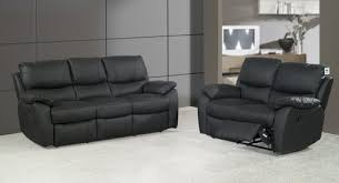 Leather Sofa Land Braga 3 And 2 Seater Black Leather Sofas Leather Sofa Land