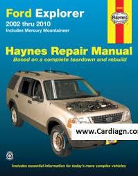 service and repair manuals 1994 ford explorer electronic valve timing ford explorer mercury mountaineer haynes repair manual pdf