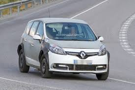 scenic renault 2017 spyshots 2017 renault scenic test mule previews much wider body