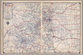 Maps Of Colorado Road Map Of Colorado David Rumsey Historical Map Collection