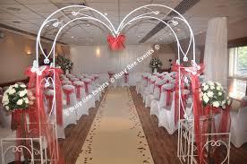 wedding arches uk wedding arch ceremony decor ideas mirror pedestals pew