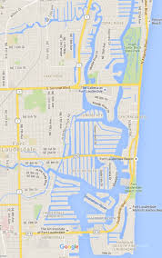 Map Of Ft Lauderdale Destinations