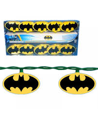 batman string christmas lights