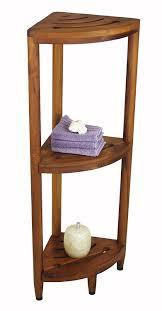 Bathroom Shelving Unit by Amazon Com The Original Kai Corner Teak Bath Shelf Home Improvement