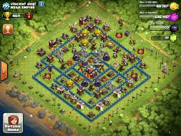 this base is town hall lvl 10 clash of clans pinterest