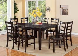 dining tables 9 piece rustic dining set 9 piece square dining
