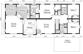 Lake House Plans Walkout Basement Lake House Floor Plan Lake e