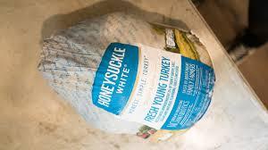 frozen whole turkey whole turkey how to prep honeysuckle white turkey