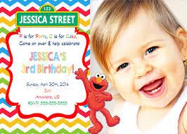 elmo first birthday free printable invitation design