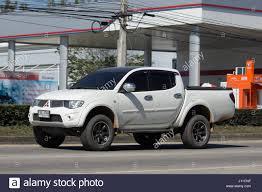 mitsubishi pickup trucks chiang mai thailand january 16 2017 private car mitsubishi