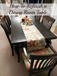 refinishing a dining room table 1000 ideas about refinished dining