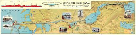 Suez Canal World Map by Tilbury To Mombasa Via The Suez Canal The Life And Times Of A