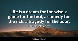 Does A Blind Person Dream Fool Quotes Brainyquote