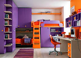 fine bedrooms for girls purple teenage o intended ideas
