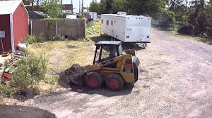 mustang 442 skid steer omc youtube