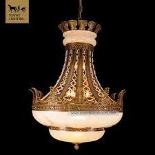 Alabaster Pendant Lights by New Design Antique Large Hotel Lights Marble Bronze Spanish