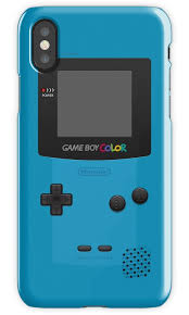 Blue Nintendo Gameboy Color Iphone Cases Skins By Redbubble Gameboy Color