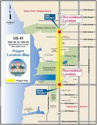 Sarasota Florida Map Us 41 Roundabouts Welcome