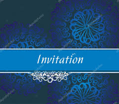 Invitation Card Invitation Card U2014 Stock Vector Redshinestudio 4472576