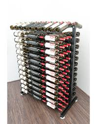 wire commercial racking for retail wine and liquor stores