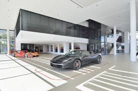 ferrari dealership dbm architects scuderia ferrari dealership