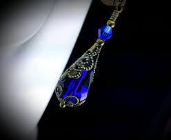 royal blue earrings royal blue earrings titanic temptations jewelry