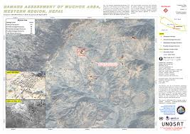 Map Of Nepal And India Earthquake In Nepal India Bangladesh China Un Spider