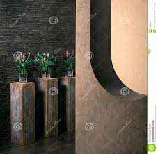 Contemporary Home Interior Designs Contemporary Home Interior Design And Vase Decor Stock Images