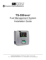 franklin fueling systems ts 550 evo fuel management system