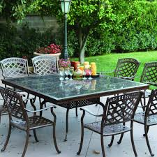 9 Pc Patio Dining Set - urban furnishings 9 piece extendable outdoor dining set reviews