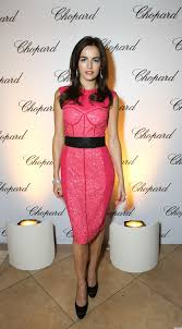 camilla belle u0027s pink corset dress at chopard love it or leave it