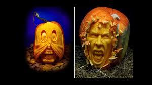 amazing halloween pumpkin carving youtube