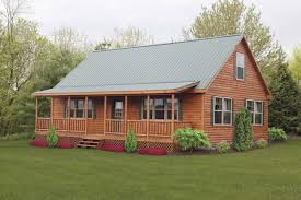 unique log cabin mobile home floor plans new home plans design