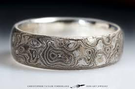 palladium sterling silver mokumé gane 14k palladium white gold and sterling silver burlwood