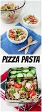 easy lunch idea pizza pasta salad recipe u0026 video