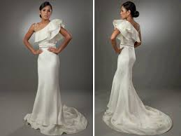 Mermaid Wedding Dresses 2011 Turmec Hairstyles For Wedding Dresses With One Shoulder