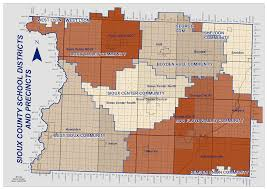 2014 Election Map by Election Information Sioux County Iowa