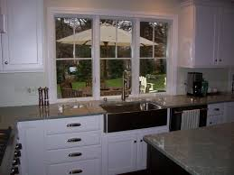 Kitchen Cabinets Kitchen Counter Height by Kitchen Sink Window Lower Than Countertop Finish Carpentry