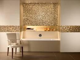bathroom alcove tubs mosaic wall tile recessed shelf bathroom
