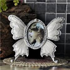 Butterfly Desk Accessories Selling Classic Baroque Style Butterfly Design Photo Frame