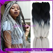 best hair for braid extensions hot sale 24inch 100gram kanekalon braiding hair box braid