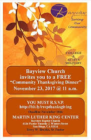 thanksgiving community dinner thursday november 23 2017 11