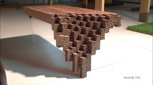the brick coffee tables falling brick coffee table youtube