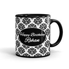 happy birthday design for mug happy birthday name mug mugart