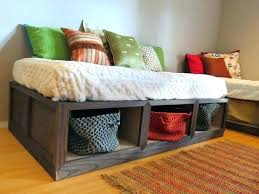 how to make a daybed frame diy daybed with storage articles with daybed frame plans tag