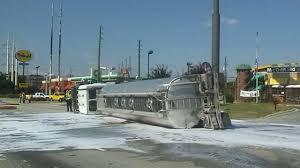 Fuel Truck Driver Driver Charged After Tanker Overturns In Selma Abc11 Com