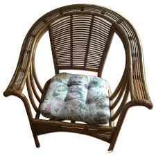 wicker chair u0026 ottoman aptdeco