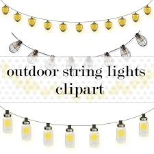Mason Jar String Lights Mason Jar Lights Clipart 22