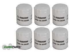 mazda 3 mx 2001 2012 mazda 3 5 6 mx 5 miata cx 7 oil filter set of 6 oem