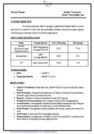 Ece Sample Resume by Over 10000 Cv And Resume Samples With Free Download B Tech Ece